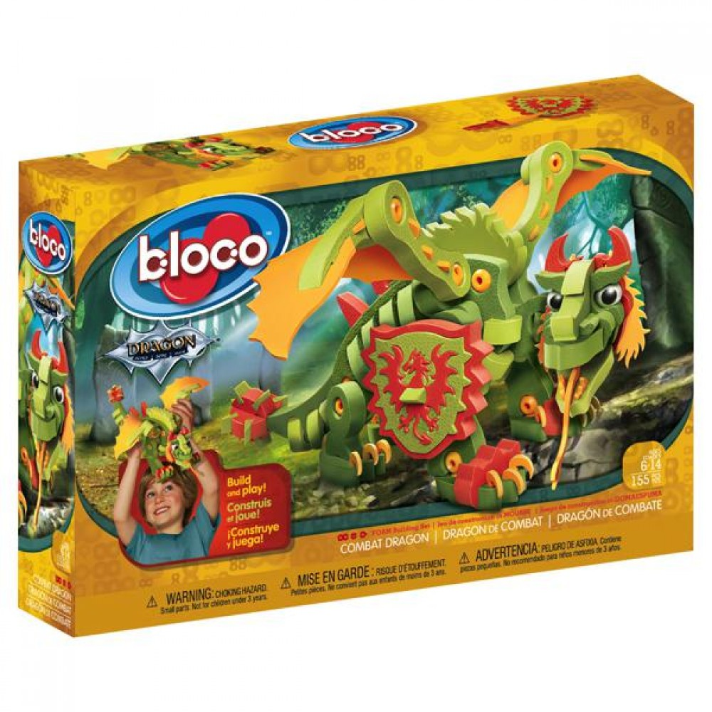 Dragon de combat de Bloco-30