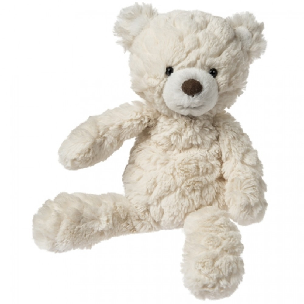 Peluche ourson crème 28 cm de Mary Meyer-30