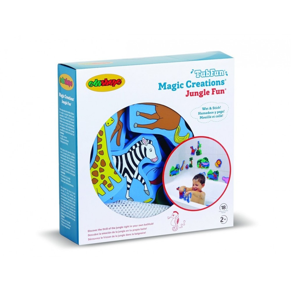 Animaux en mousse pour le bain Jungle de Edushape-31