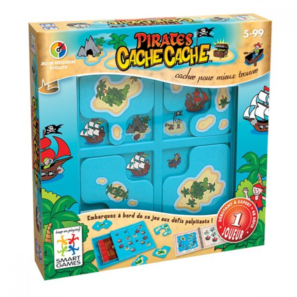 Cache-cache Pirates de Smart Games-35