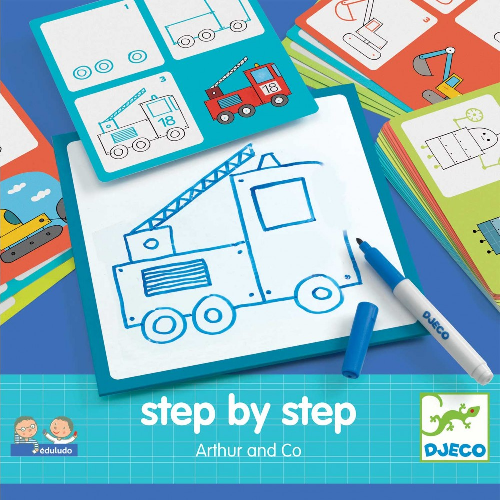 Eduludo Step by step Arthur & Co de Djeco-31
