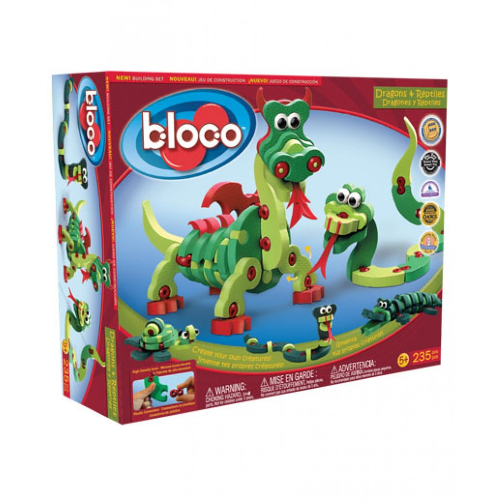 Dragons et reptiles de Bloco-31