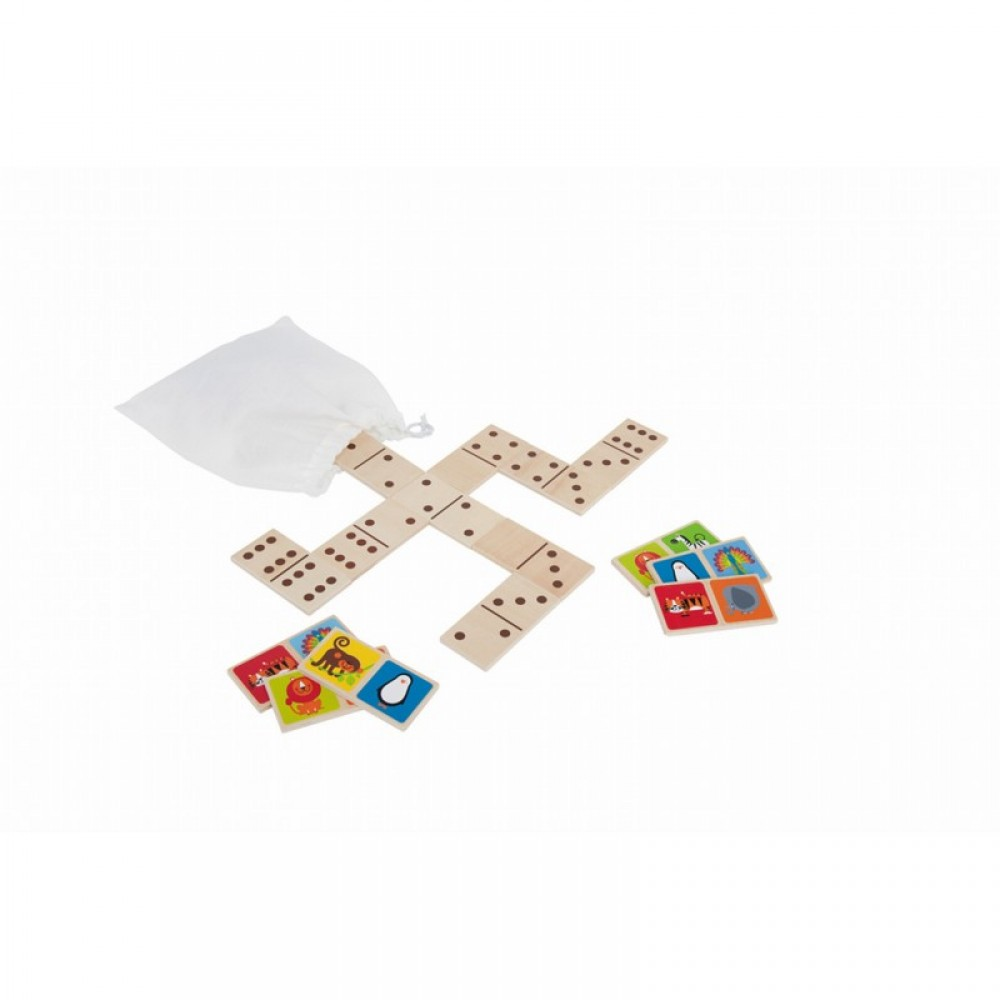 Jeu de dominos Zoo de Hape-30