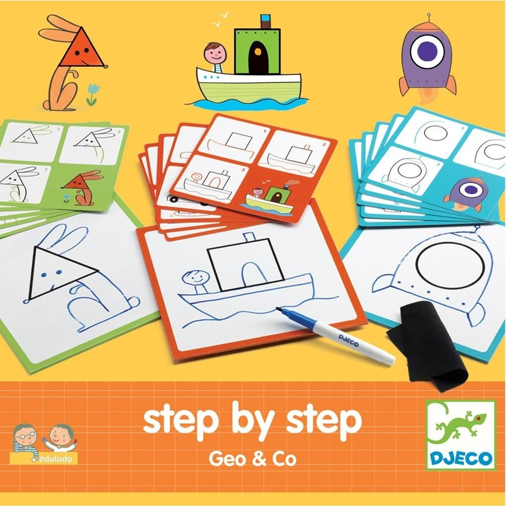 Eduludo Step by Step Geo & co de Djeco-31