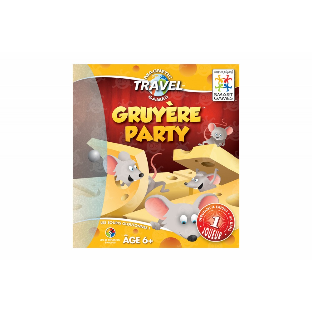 Jeu de voyage Gruyère Party de Smart Games-31