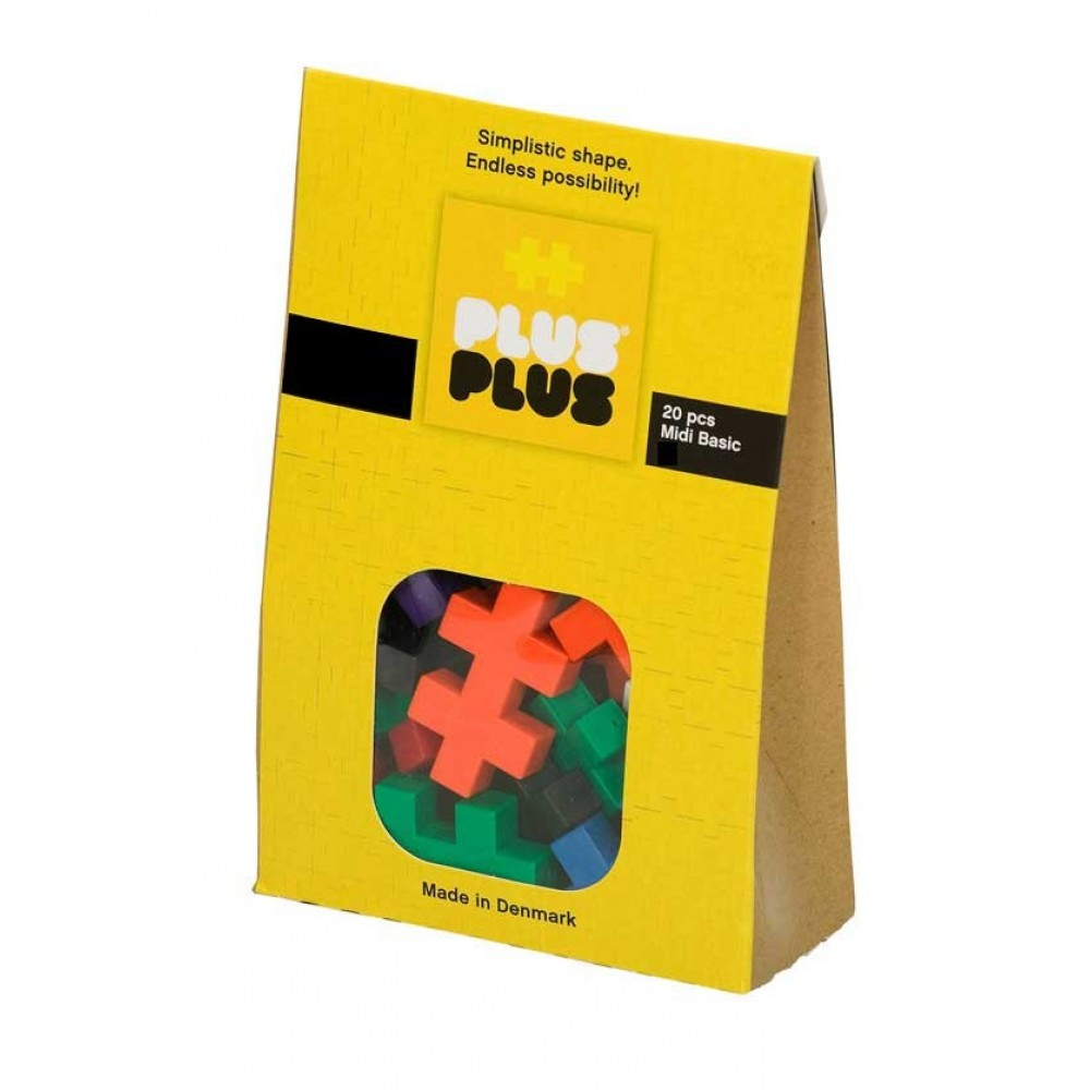 Plus Plus Midi Basic 20 pcs de Plus-Plus-35