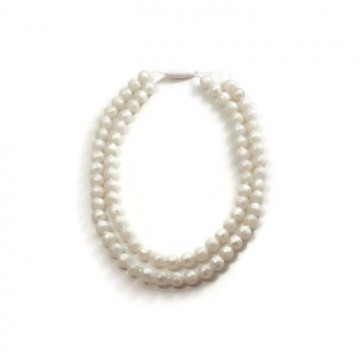 Collier de dentition - Perles - Double mini