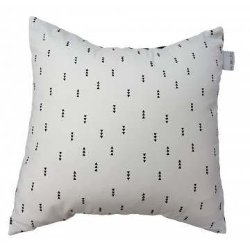 Coussin carré Collection Éden Blanc de Literie La Libellule-20