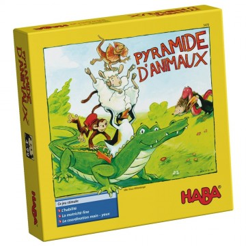 Pyramide d'animaux - Multilingue
