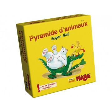 Super mini pyramide d'animaux de Haba-22