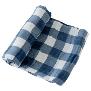 Couverture en mousseline de coton - Jack Plaid