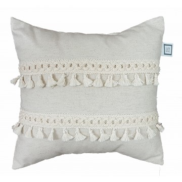 Coussin Frange - Collection Boho