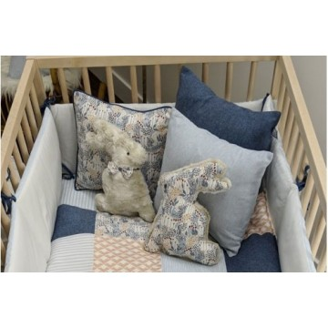 Coussin Motif - Collection Robin