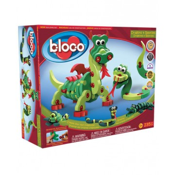 Dragons et reptiles de Bloco-21