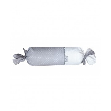 Coussin bonbon - Collection Gris & Blanc