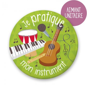 Aimant à frigo Instrument de Minimo Motivation ludique-21