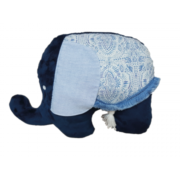 Coussin grand éléphant Collection Noé de Literie La Libellule-21