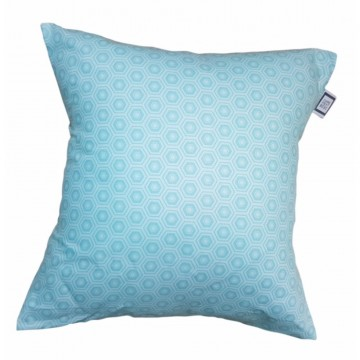 Coussin carré - Collection Léo - Turquoise