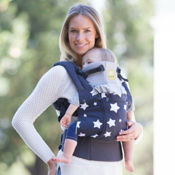 Porte-bébé ergonomique All Seasons Star Struck de Lillébaby-213