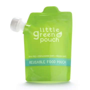 Pochette réutilisable 7 oz Paquet de 4 de Little Green Pouch-21