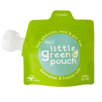 Pochette réutilisable 3,4 oz Paquet de 6 de Little Green Pouch-20