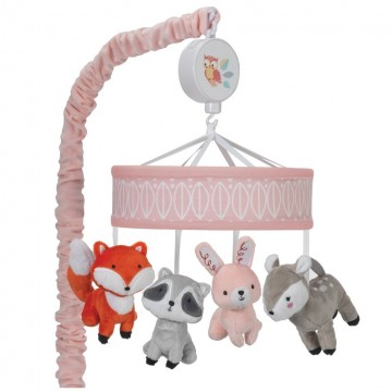Mobile musical-Little Woodland collection de Lambs & Ivy-22