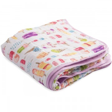 Couette en mousseline de coton - Brain Freeze