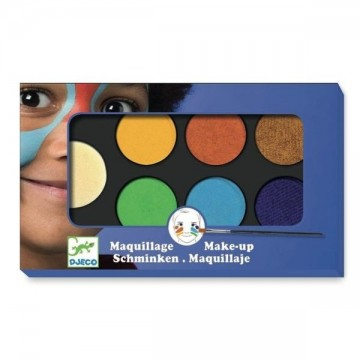 Maquillage - 6 couleurs - Nature