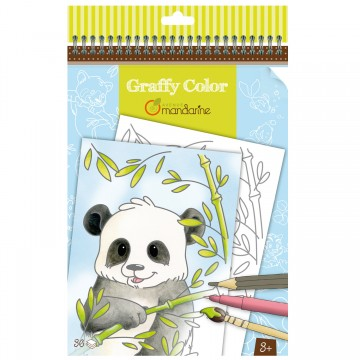 Graffy Color - Animaux d'Asie