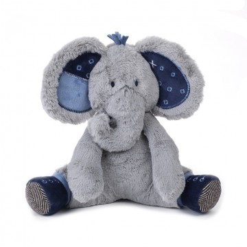 Peluche éléphant - Patches