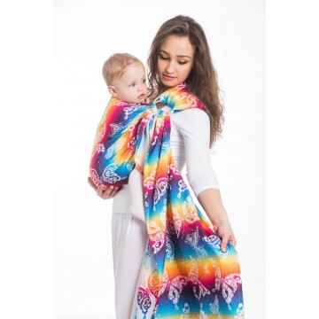 Ring Sling - Butterfly Rainbow Light