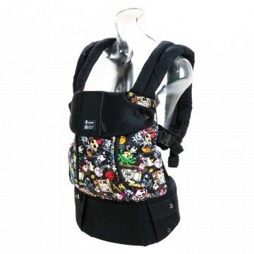 Porte-bébé ergonomique All Seasons Tokidoki Rebel de Lillébaby-21
