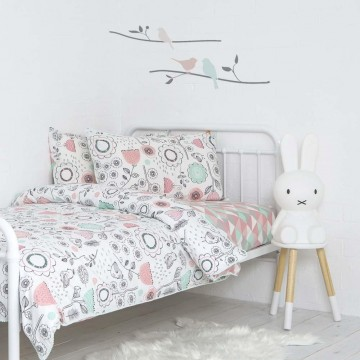 Housse de couette Lit simple Sparrow de Lolli Living-21