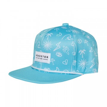 Casquette - Surf'S up turquoise