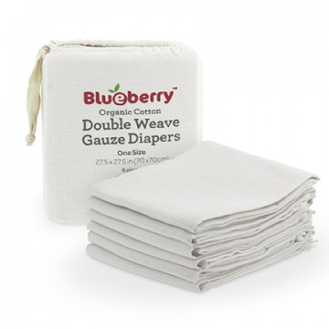 Couche plate Paquet de 6 de Blueberry-20