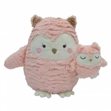Peluche maman Hibou Woodland Couture de Lambs & Ivy-20