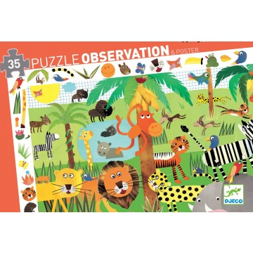 Puzzle observation - La jungle