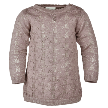 Robe en tricot - Rose taupe