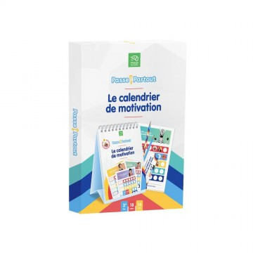 Le calendrier de motivation - Passe-Partout