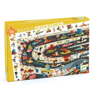 Puzzle observation - Rallye automoblie
