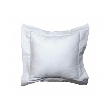 "Coussin 14"" x 14"" - Collection Gris & Blanc"