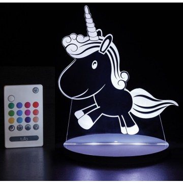 Veilleuse LED multicolore - Licorne